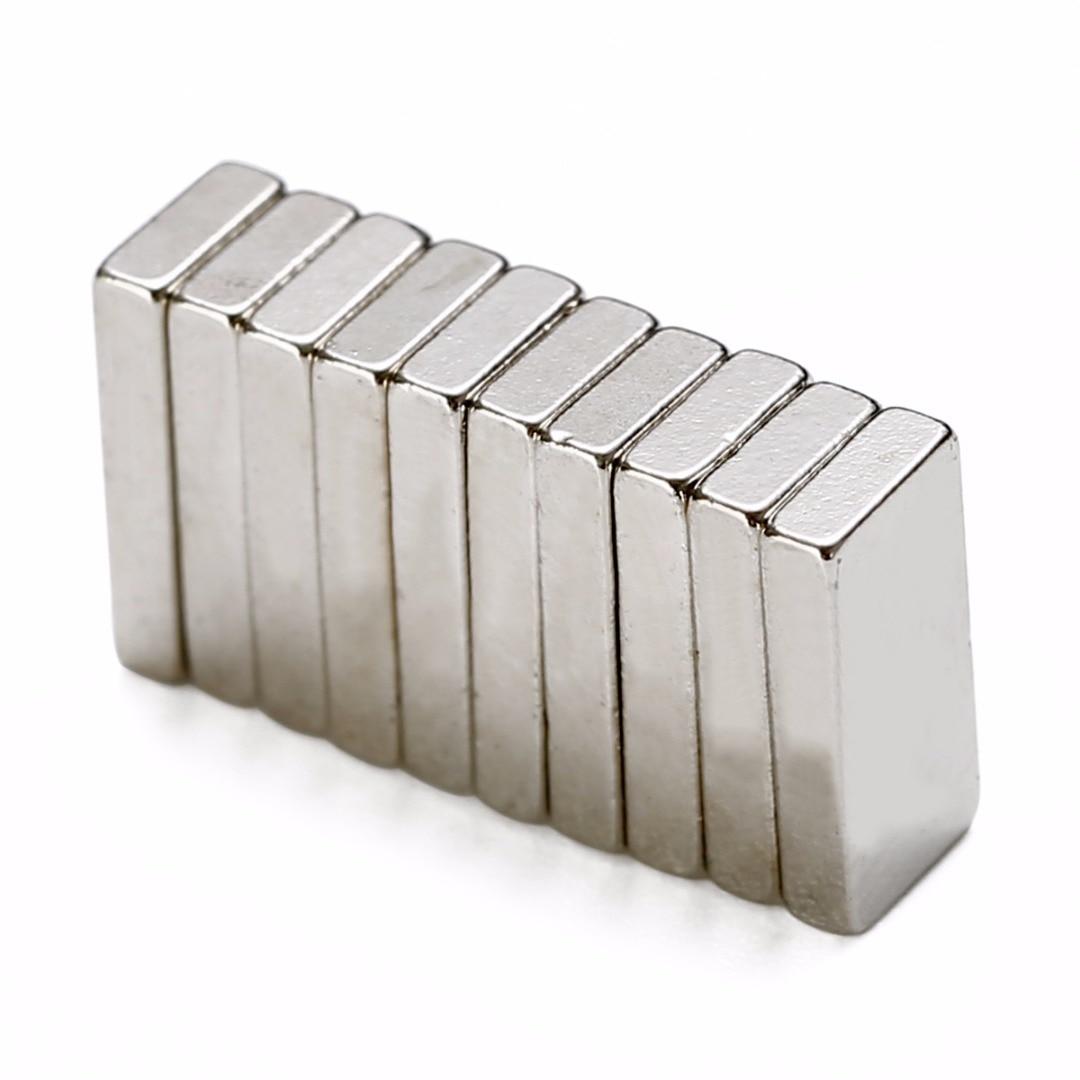 10pcs N52 block 10*5*2mm rare earth neodymium permanent super strong magnets ~