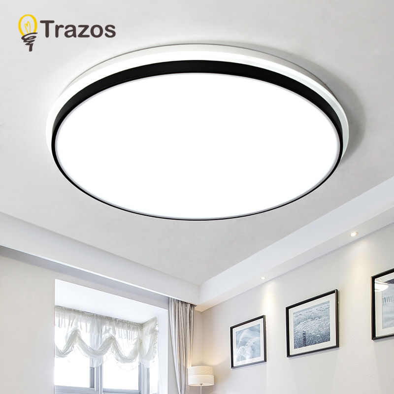 Modern Ceiling Lights Black/White novelty bedroom Ceiling lighting Nordic illumination home fixtures LED Ceiling Lights