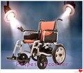 10 pulgadas de 16 pulgadas fácil portátil plegable silla de ruedas eléctrica (PPSE-11)