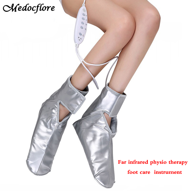 Health care Electric foot massager Far infrared foot care device leg massage device with heating and therapy Relieve fatigue цены