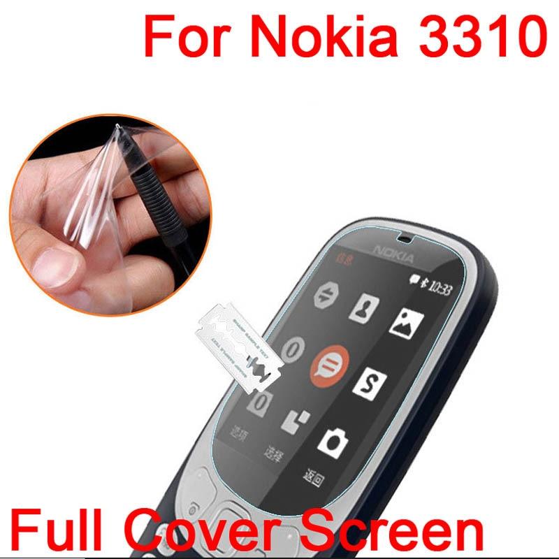 5 шт. Ultra Clear Глянцевая/Матовая/Nano анти-Взрыв Протектор Экрана LCD Пленочной оболочкой Для Nokia 3310 2017 Защитная Пленка + Ткань