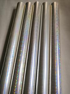 Image 3 - Holographic foil transparent foil different design mixed stamping foil hot press on paper or plastic  transfer