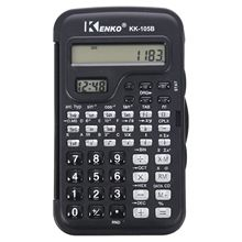 KENKO Student Electronic 10 Digits Scientific Calculator Calculator with Clock-SCLL