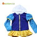 New Spring Elsa Cartoon Coats Boys & Girls Hooded Jackets 2-7 Years Children Outwear Girls Sports Jackets KU873