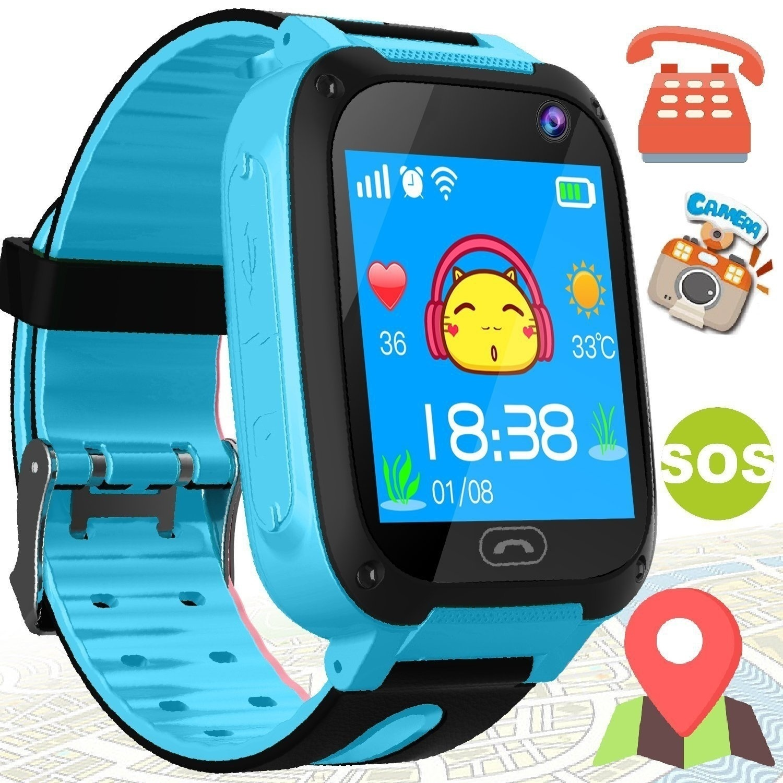 Kids Child Smart Watch Anti-Lost LBS Positioning Alarm Clock Waterproof Take Picture Illumination Smart Children Watch Make Call