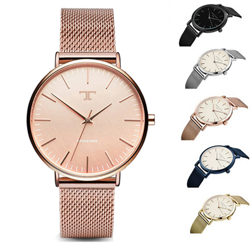 Fashion TAYROC ladies watch new ultra-thin leather 30 meters waterproof leisure sports watch men's watch quartz watch 1children time sports watch leisure new 5per ytl0815 ttb01