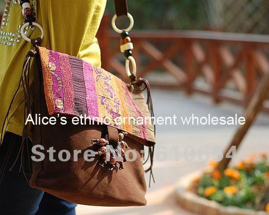 2012NEW! FREE SHIPPING NATURAL AND ETHNIC HANDBAG,HANDWORKED LEISURE SHOULDER BAG,#2739 SPECIAL HOBOS\ SATCHELS FOR FASHION LADY