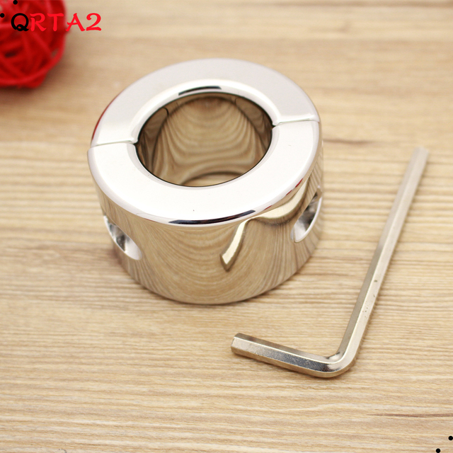 New Weights 600g Testicle Balls Scrotum Pendant Stainless Steel Ball Stretchers Cock Ring Locking Real Men Sex adult Product