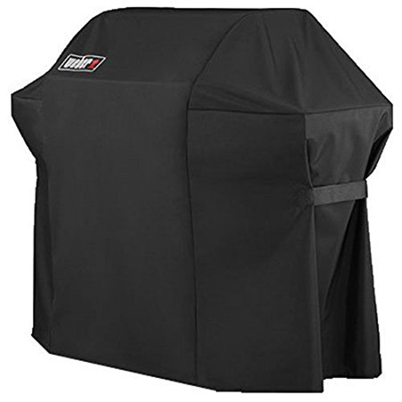 Weber Brand 7107 Grill Cover BBQ cover (44 in X 60 in) with Storage Bag for Genesis Gas Grills
