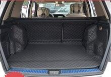 Gute & Neu! Spezielle kofferraum-matten für Mercedes Benz GLK 250 2014 wasserdichte leder gepäck teppiche für GLK 250 2015, Freies verschiffen