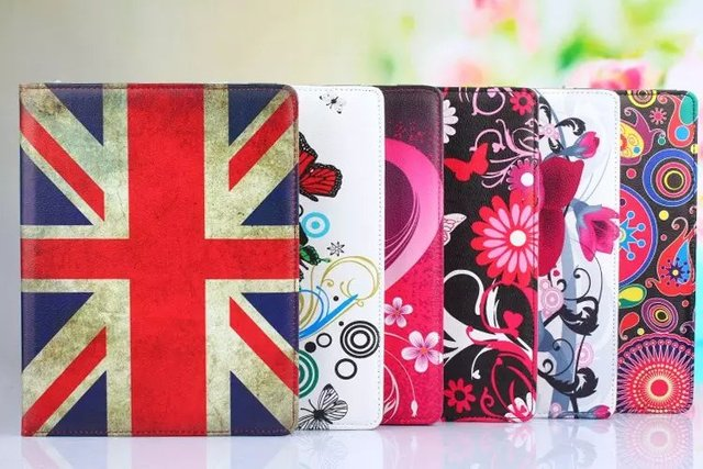 Cover For apple iPad Air 2 ipad 6 case Luxury 360 Rotating