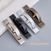 High Quality 20PCS Tatami Hidden Door Handles Recessed Flush Pull Cover Floor Cabinet Concealed Furniture Handles