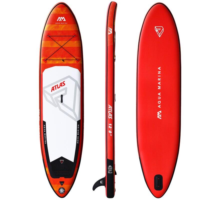 Planche de surf gonflable 366*84*15 cm ATLAS 2019 stand up planche de surf AQUA MARINA planche de sport nautique planche de surf ISUP - 3