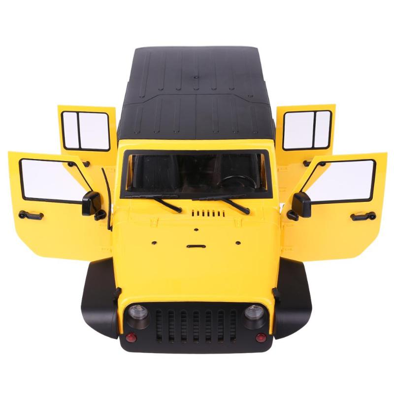 New 313mm Wheelbase Jeep Wrangler Rubicon Car Shell For RC Crawler Axial Monster truck kids toys Fun Gifts цена
