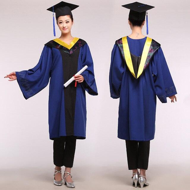 Unisex Akademischen Kleid Bachelor Kleidung universität ...