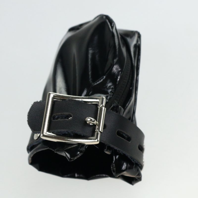 Soft PVC Leather Male Cock Cage Penis Rings Bondage Slave Restraints Lockable In Adult Games,Fetish Sex Products Toys For Men