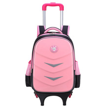 Kids Wheels Removable Trolley Backpack Wheeled Bags Children School Bag Boys Travel Children's Backpacks Mochilas Sa