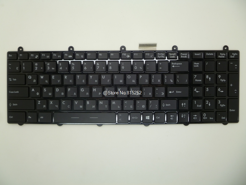 Laptop Keyboard For MSI GE60 2PG-408RU 2PG-467XRU 2PG-497RU 2QD-1053RU 2QE-1051RU 2QE-1055RU Russian RU With Colourful Backlit ru russian for msi ge60 gt60 ge70 gt70 16f4 1757 1762 16gc gx60 gx70 16gc 1757 1763 backlit laptop keyboard