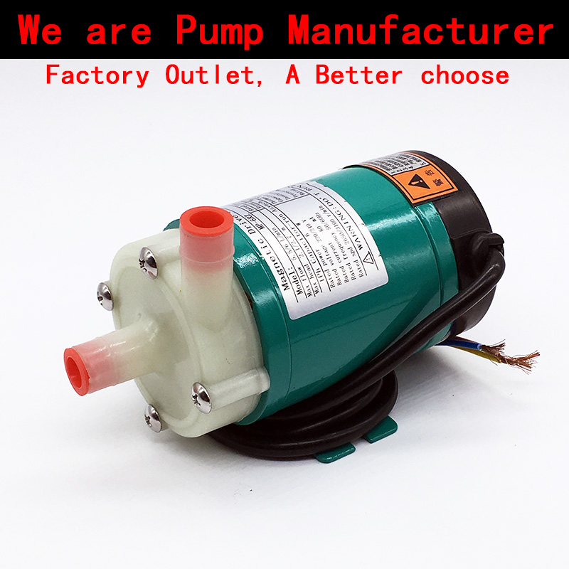 Mini Water Pump 220V MP-6RZ 3.2~5.5L/min (60HZ: 4.5~6L/min) Food grade Centrifugal pumps Corrosion Resistance CE certificate 8 l min electric diaphragm 12v dc mini air pump brush