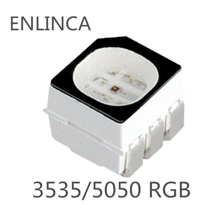 100pcs RGB LED SMD SMT 0603 Super bright LED lamp Bulb