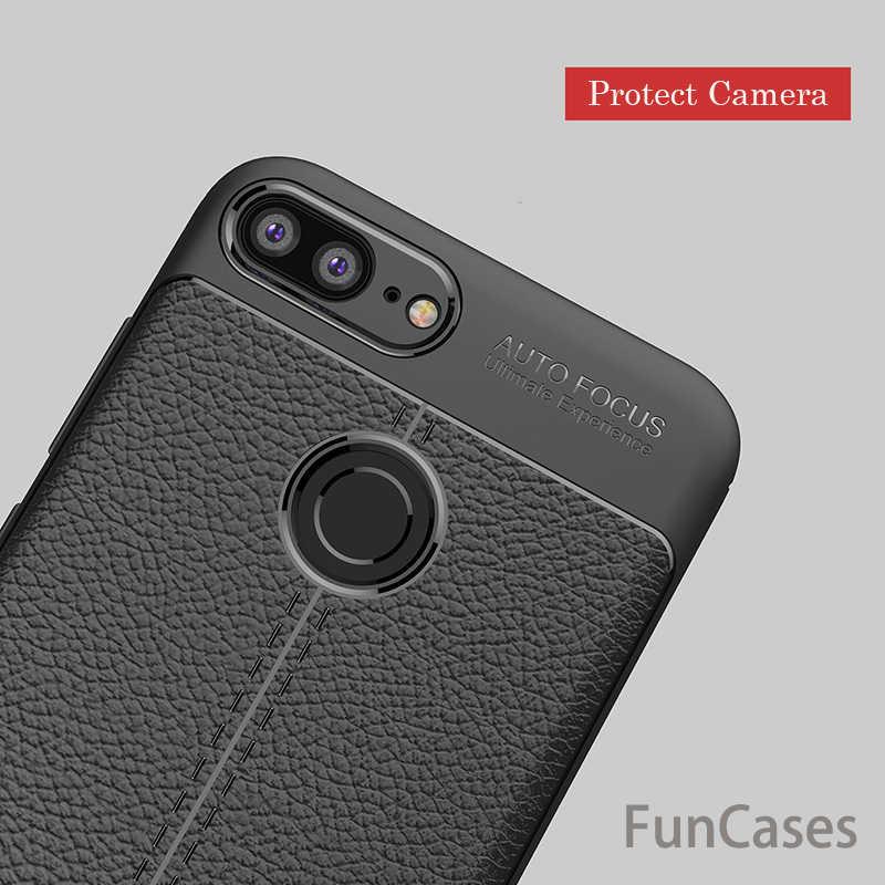 Para Huawei Enjoy 7 S funda de 5,65 pulgadas nuevo lujo ultrafino suave TPU fundas de cuero para Huawei P inteligente PSmart Coque Fundas Huawei
