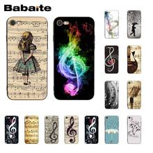 Babaite Musical Notes Violin Classical Music Phone Case for iphone 11 Pro 11Pro Max 8 7 6 6S Plus X XS MAX 5 5S SE XR(China)