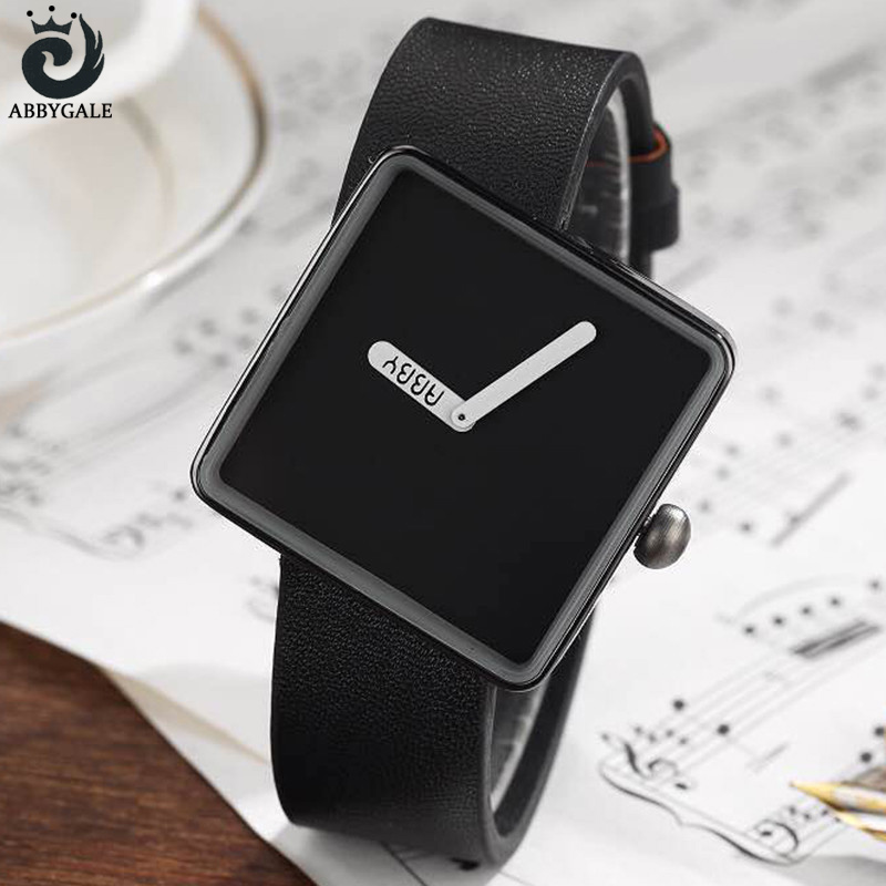 Simple Stylish Minimalist Watches Womens Wrist Watch Square Ladies Clock Quartz Dress Montre Femme 2017 Relojes Mujer Dropship