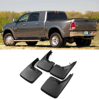 For Dodge Ram 1500 2500 3500 2009 2016 4PCS Brand New Splash Guar Mud Guards Mud Flaps Fender Car Styling Auto Accessories