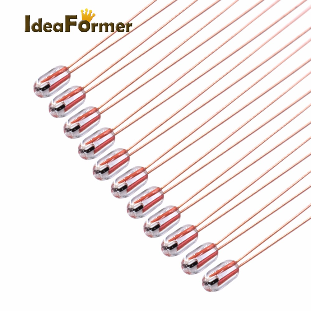 20pcs 100K Ohm NTC 3950 Thermistors For 3D Printer Reprap Mend