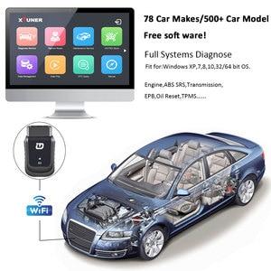 Image 5 - XTUNER E3 V10.7 الماسح OBD2 WiFi كامل أنظمة التشخيص أداة السيارات الماسح الضوئي ل Diag/EXP/بطارية الخدمة الرئيسية DPF إعادة تعيين