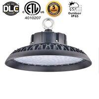 DLC 100W 150W ufo led high bay Lighting Waterproof IP65 5000K Industrial Lamp Workshop Garage Warehouse Stadium Market Airport