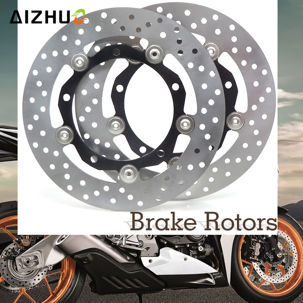Motorcycle Accessories Front Brake Disc Disks Brake Rotor For YAMAHA XP530 XP 530 T-MAX 530 TMAX530 TMAX 530 2012 2013 2014 2015 for yamaha t max 530 tmax t max 530 12 16 carbon fiber front fender splash mud dust guard mudguard protection