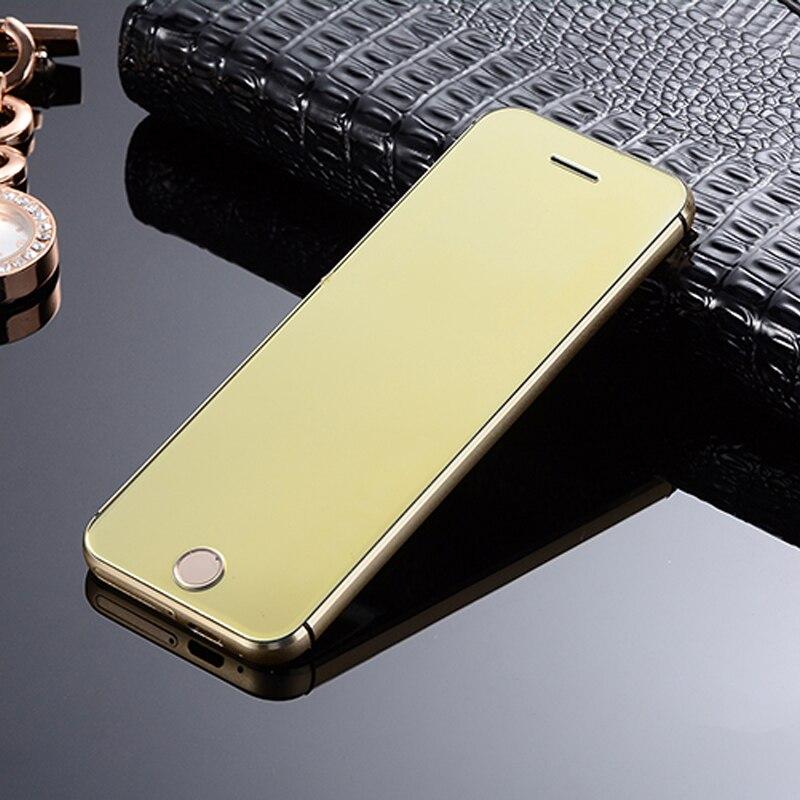 2017 New KUH K9 Mini Phone 1 54 inch Ultrathin Credit Card Cellphone Metal Body Bluetooth