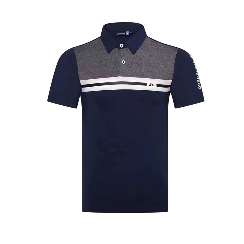 Chemise de Golf Cooyute dernier printemps été JL Golf sport chemise manches courtes anti-boulochage courte JL Golf T-Shirt livraison gratuite