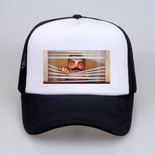 Cartoon Hello Neighbor Game Pattern Baseball caps Fans Cap Cool Summer Mesh Net Trucker Caps Hat Snapback
