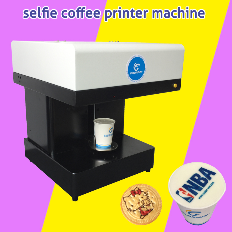 Edible ink printer Art Beverages Coffee Printer coffee Food and Beverage Printing Machine, Auto Coffee/Tea/ Cookies Printer beverages and food additives ternate pinellia extract