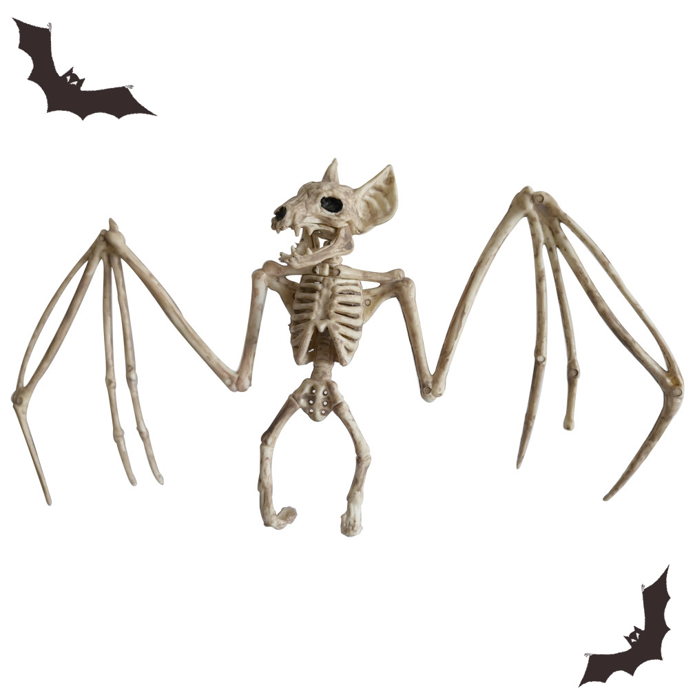 HTB1d4AIRwHqK1RjSZFgq6y7JXXa1 - Halloween Decoration Animal Skeleton Bones Creepy Spider Bat Mouse Scorpion Lizard Bones Ornaments Hallowmas Horror Props Party