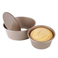 8 дюймов анодированного Алюминий круглый Форма для чизкейков фигурная формочка для торта выпечки Плесень с съемным дном