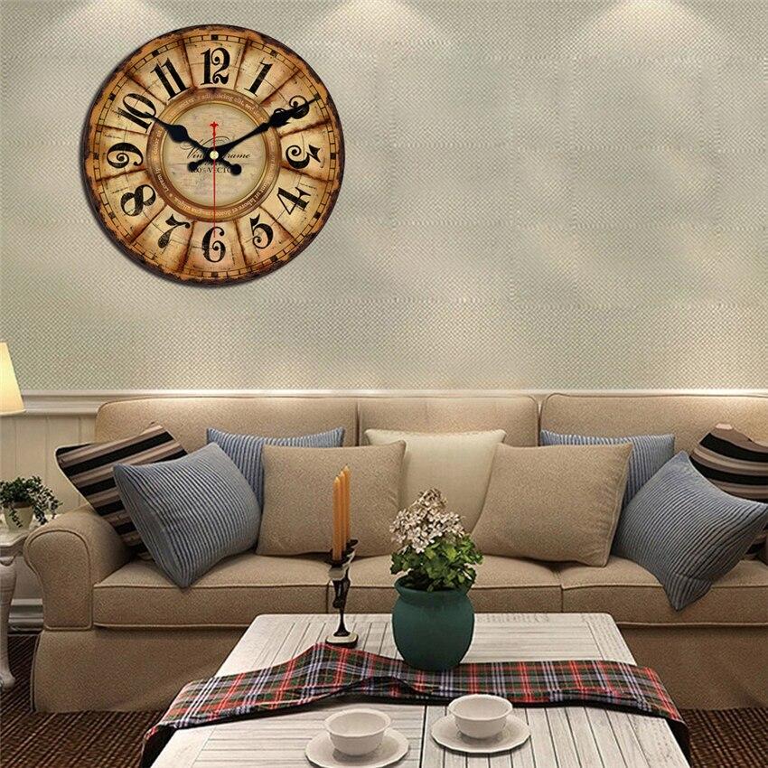 Meistar relógios de madeira do vintage breve