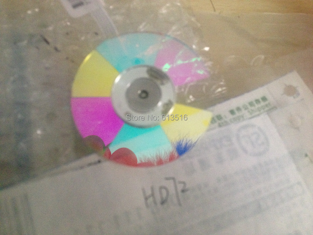 (NEW) original  Projector Color Wheel  For OPTOMA   For OPTOMA HD72 original projector color wheel for optoma ex540i