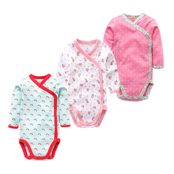 Girls Cotton Romper 3PCS/LOT 1