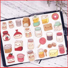 26 pcs Delicious snack personalized scrapbook Stickers scrapbooking material sticker happy planner decoration craft