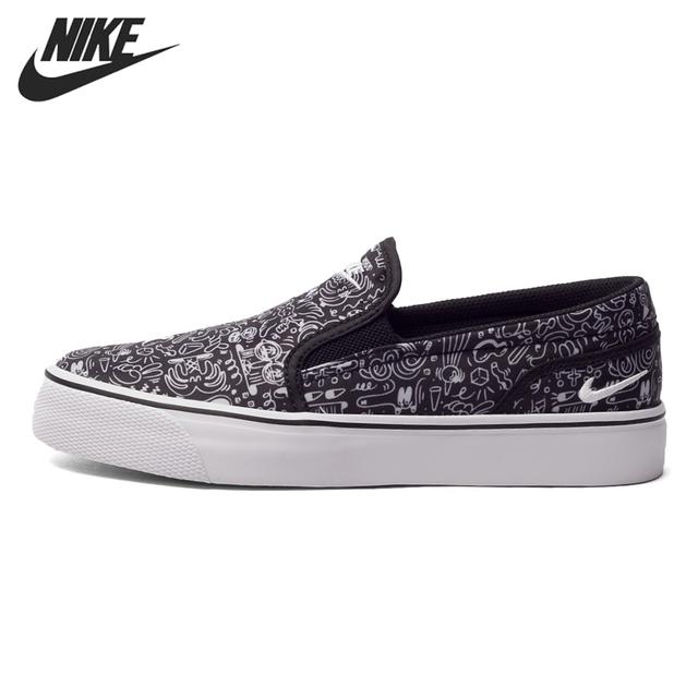 Original New Arrival NIKE TOKI SLIP PRINT Women's Skateboarding Sneakers