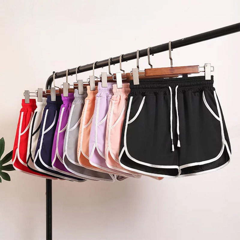 Summer Casual Shorts Woman 2019 Plus Size High Waist Booty Shorts Female Ice Silk Cool Loose Beach Sexy Shorts