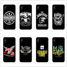 DK Khabib Time Nurmagomedov UFC New phone case black cover for Samsung s8 s9plus S6 S7Edge for iPhone 6s 7 8plus 5 X XS XR XSMax