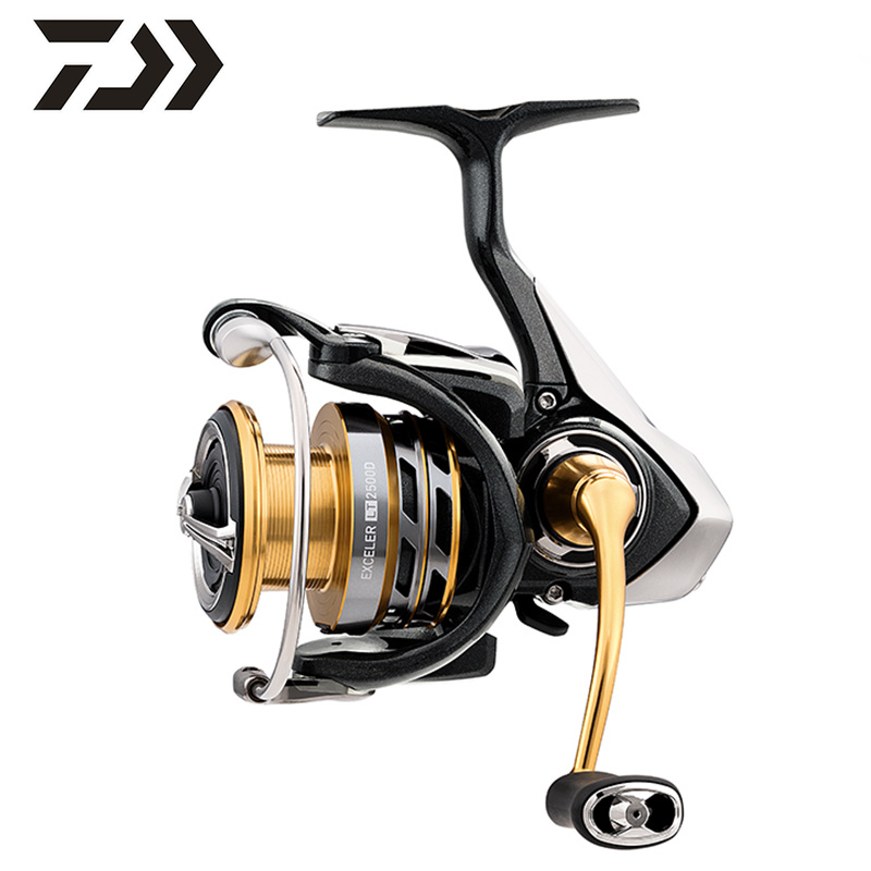 DAIWA EXCELER LT  Original 1000/2000 /2500/3000/4000/5000 /6000 Series High and Low Speed Reel Spinning Wheel|Fishing Reels| |  - title=