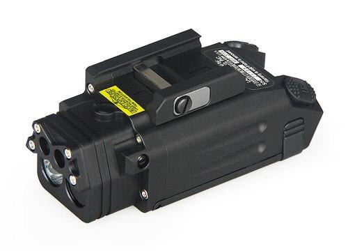 TRIJICON Tactical DBAL-PL LED Flashlight 400 Lumens White Light Hunting Red Laser Flashlight With IR Illuminator PP15-0087