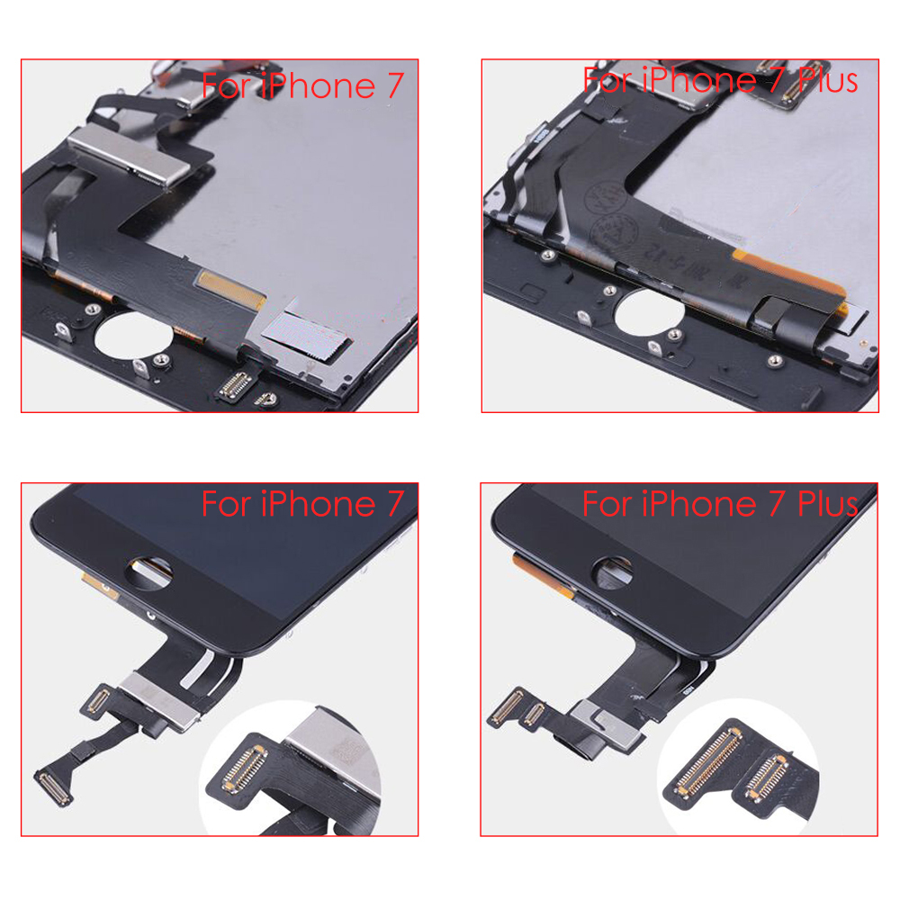 Sinbeda 100 New For iPhone 7 7 Plus LCD Display Touch Screen Digitizer Assembly Replacement For iPhone 8 8 Plus Digitizer in Mobile Phone LCD Screens from Cellphones Telecommunications