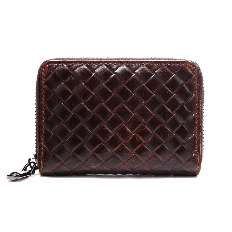 Kožni nosač kartice Kreditni ID Torbica za torbicu za knjižnu - Novčanici