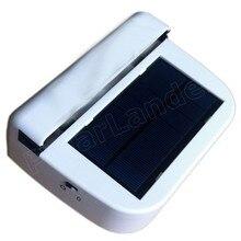 2015 de Alta Calidad de la Energía Solar Auto del coche Del Ventilador Del Coche ventilador Tiras-Mantiene Su Estacionado Envío gratis